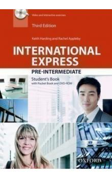 International Express Third Ed. Pre-intermediate Student's Book with Pocket Book and DVD-ROM Pack - Harding K. Appleby R.