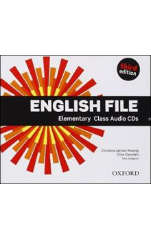 English File Elementary Class Audio CDs -- Third edition