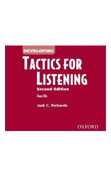 Developing Tactics for Listening Second Edition Class Audio CDs /3/ - Richards Jack C.