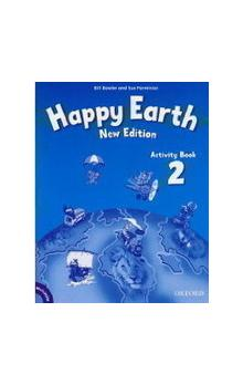 Happy Earth New Edition 2 Activity Book with MultiRom Pack - Bowler Bill Parminter Sue