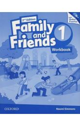Family and Friends 1 Workbook with Online Skills Practice (2nd)