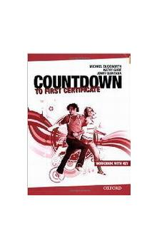 Countdown to First Certificate New 2008 Ed. Workbook with Key + CD Pack