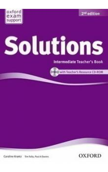 Maturita Solutions 2nd Edition Intermediate Teacher´s Book with Teacher´s Resource CD-ROM