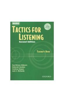 Basic Tactics for Listening Second Edition Teacher's Book with CD - Richards Jack C.