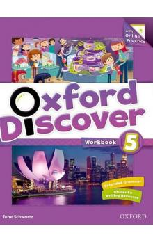 Oxford Discover 5 Workbook with Online Practice