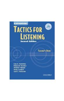 Expanding Tactics for Listening Second Edition Teacher's Book with CD - Richards J. C.