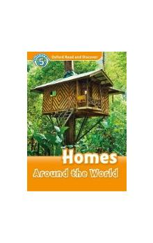 Oxford Read and Discover Level 5: Homes Around the World + Audio CD Pack