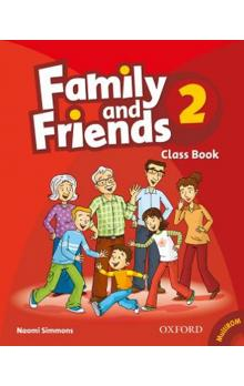 Family and Friends 2 Course Book with MultiRom Pack