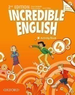 Incredible English 2nd Edition 4 Activity Book with Online Practice