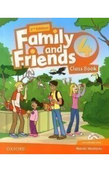 Family and Friends 2nd Edition 4 Course Book with MultiROM Pack