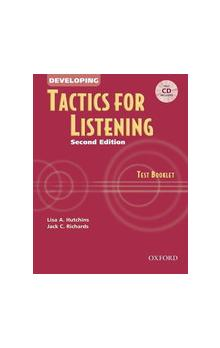 Developing Tactics for Listening Second Edition Test Booklet with CD - Richards Jack C.