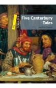 Dominoes Second Edition Level 1 - Five Canterbury Tales + MultiRom Pack