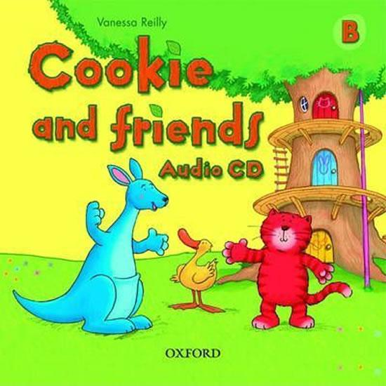 Cookie and Friends B Class Audio CD - Reilly Vanessa [CD]