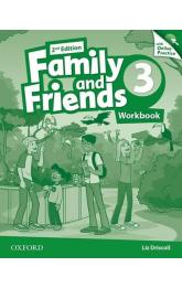 Family and Friends 3 Workbook with Online Skills Practice (2nd)
