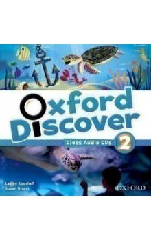Oxford Discover 2 Class Audio CDs (3)