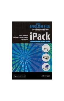 New English File Pre-intermediate iPack Single Computer - Oxenden C. Latham, koenig S. Seligson P.
