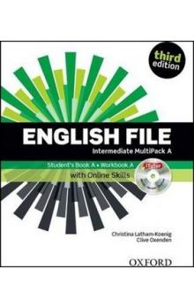 English File Third Edition Intermediate Multipack A with Online Skills - Oxenden Clive Latham, Koenig Christina