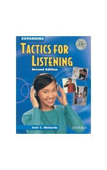 Expanding Tactics for Listening Second Edition Student's Book with CD - Richards J. C.