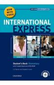 International Express Interactive Ed. Elementary Student´s Book + Pocket Book + MultiRom + DVD Pack