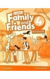 Family and Friends 4 Workbook (2nd)