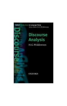 Oxford Introductions to Language Study: Discourse Analysis