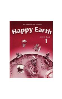 Happy Earth 1 Activity Book with MultiRom Pack