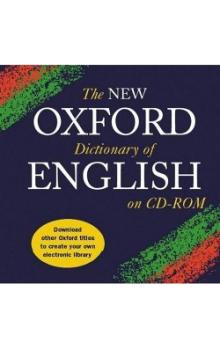 The New Oxford Dictionary of English on CD-ROM - Oxford Dictionaries