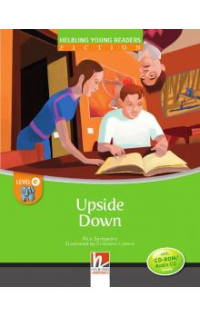 Helbling Young Readers Fiction Stage E: Upside Down + CD-Rom Pack