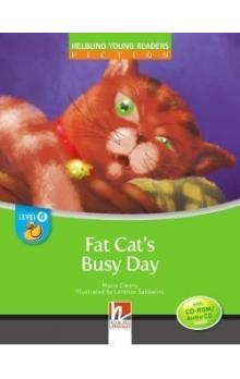Helbling Young Readers Fiction Stage D: Fat Cat´s Busy Day + CD-Rom Pack
