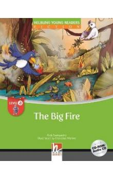 Helbling Young Readers Fiction Stage A: the Big Fire + CD-Rom Pack - Sampedro R.