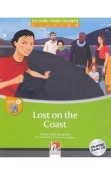 Helbling Young Readers Fiction Stage E: Lost on the Coast + CD-Rom Pack