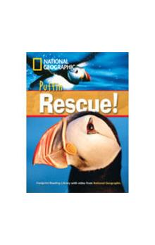 Footprint Readers Library Level 1000 - Puffin Rescue! + MultiDVD Pack - Waring Rob National Geographic