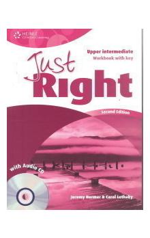 Just Right Second Edition Upper Intermediate Workbook with Answer Key + Workbook Audio CD