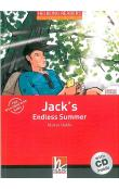 Helbling Readers Fiction Level 1 Red Line - Jack´s Endless Summer + Audio CD Pack