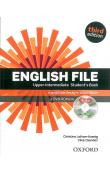 English File Third Edition Upper Intermediate Student´s Book with iTutor DVD-ROM (Czech Edition)