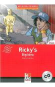 Helbling Readers Fiction Level 2 Red Line Ricky´s Big Idea + Audio CD Pack