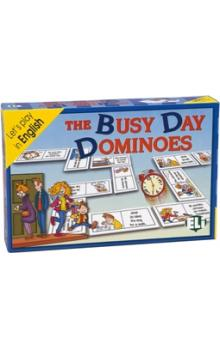 Let´s Play in English: the Busy Day Dominoes