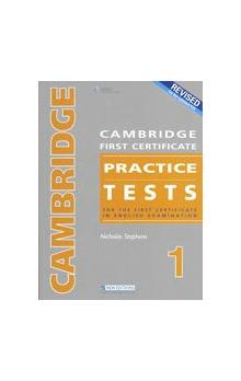 Cambridge FCE Practice Tests 1 2008 Revised Ed. Student&#39s Book