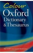 Colour Oxford Dictionary and Thesaurus Second Edition
