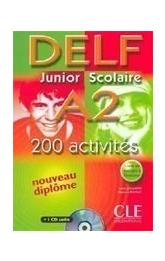 DELF Junior Scolaire A2 Livre & Corriges & CD