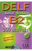 DELF Junior Scolaire B2 Livre & Corriges & CD