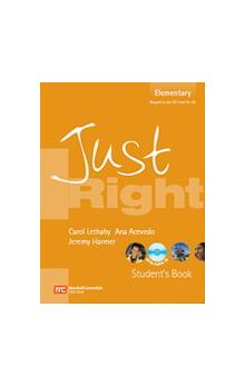 Just Right Elementary Student´s Book + Audio CD