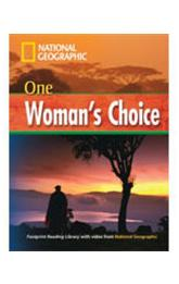 Footprint Readers Library Level 1600 - One Woman´s Choice + MultiDVD Pack