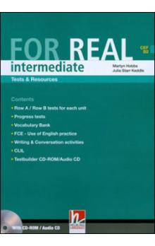 For Real Intermediate Tests & Resources + Testbuilder CD-rom