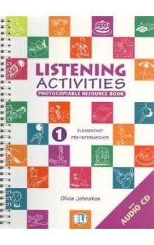 Listening Activities 1 Elementary/pre-intermediate with Audio CD