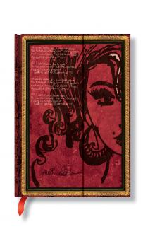 Paperblanks Amy Winehouse, Tears Dry Midi Lined