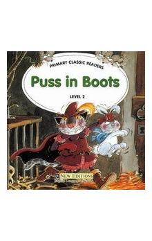 Primary Classic Readers Level 2: Puss in Boots Book + Audio CD Pack