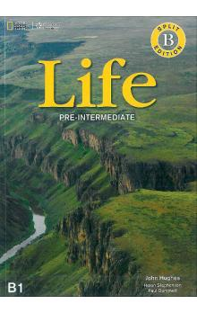 Life Pre-Intermediate Split Edition B with DVD and Workbook Audio CDs