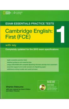 Exam Essentials Practice Tests: Cambridge English: First (FCE) 1 with DVD-ROM with Key