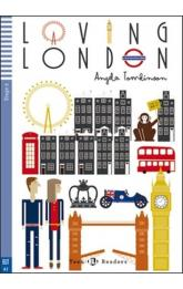 Teen Eli Readers Stage 2 (cef A2): Loving London with Audio CD
